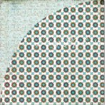 Бумага двусторонняя Joey, 300х300 мм., коллекция 2010 Oliver, Basic Grey