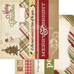 Двусторонняя Бумага Handmade Holiday, 300х300 мм., 2714, Simple Stories