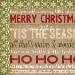 Двусторонняя Бумага Handmade Holiday - Holiday Cheer, 300х300 мм., 2705, Simple Stories