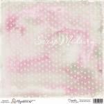 Бумага односторонняя, Sweet Crazy Love, Pink 1061, 150х150 мм, Magnolia, 2012
