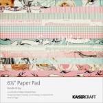 Набор бумаги, Bundle of Joy 1158, 1\2 набора, 150x150 мм., 18 листов, 2 листа высечки, Kaiser Craft