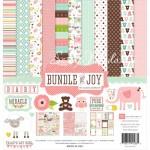 Набор двусторонней Бумаги Bundle of Joy GIRL № 1211, 300х300 мм., Echo Park Paper