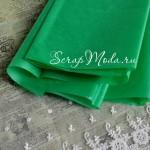 Бумага Тишью, Зеленая, мягкая, 660х500 мм., цена за 1 лист., BU001349