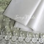 Бумага Тишью, Белая, мягкая, 660х500 мм., цена за 1 лист, BU001350