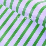 Бумага Тишью, Полоска салатовая, мягкая, 660х500 мм., цена за 1 лист., BU001453