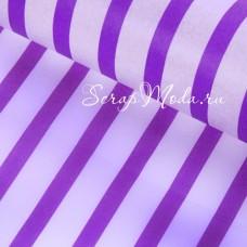 Бумага Тишью, Полоска фиолетовая, мягкая, 660х500 мм., цена за 1 лист., BU001454