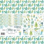 """Набор бумаги """"Новый год"""" 9 листов, Mona Design, BU001500"""