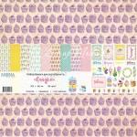 """Набор бумаги """"Сладко"""" 10 листов. Mona Design, BU001501"""