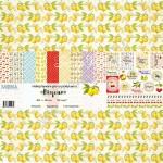 """Набор бумаги """"Вкусно"""" 10 листов. Mona Design, BU001502"""