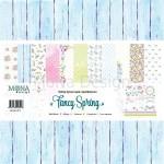 """Набор бумаги """"Fancy Spring"""" 12 листов, Mona Design, BU001504"""