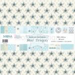 """Набор бумаги """"Звездный дракон"""" 10 листов, Mona Design, BU001506"""