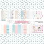 """Набор бумаги """"Chic wedding"""" 12 двусторонних листов, Mona Design, BU001507"""