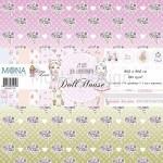 """Набор бумаги """"DollHouse""""+ПОДАРОК!!! 10 листов, Mona Design, BU001508"""