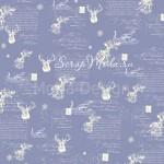 Бумага односторонняя - Морозное утро, коллекция Сказочное рождество, Mona Design, BU001511