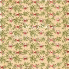 Бумага односторонняя - Еловые веточки, коллекция Сказочное рождество, Mona Design, BU001512