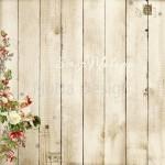 Бумага односторонняя - Нежная сказка, коллекция Сказочное рождество, Mona Design, BU001515