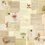 Бумага односторонняя - Письма Деду Морозу коллекция Сказочное рождество, Mona Design, BU001516