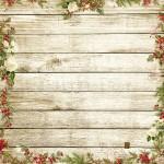 Бумага односторонняя - Уютный праздник, коллекция Сказочное рождество, Mona Design, BU001518