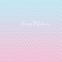 Бумага односторонняя - Звездочки на розовом, коллекция Розовый единорог, Mona Design, BU001529