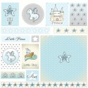 Бумага односторонняя - Карточки, коллекция Звёздный дракон, Mona Design, BU001531