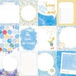 """Односторонняя бумага Карточки """"Млечный путь"""", размер 30,5х30,5 см., Polkadot, BU001551"""