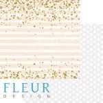 "Лист бумаги двусторонний Моя леди, коллекция ""Моя леди"", 30х30 см, плотность 190 гр, Fleur design, BU001611"
