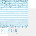 """Лист бумаги двусторонний Мой джентльмен, коллекция """"Мой джентльмен"""", 30х30 см, Fleur design, BU001621"""