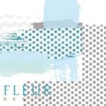 """Лист бумаги двусторонний Микс, коллекция """"Мой джентльмен"""", 30х30 см, плотность 190 гр, Fleur design, BU001624"""