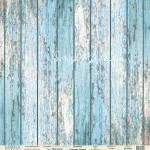 Бумага односторонняя -Лист Blue wood, коллекция Love is in the air, Mona Design, BU001645
