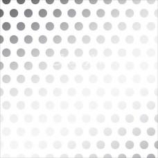Лист веллума Silver Dot, 30х30 мм,  American Craft. BU001651