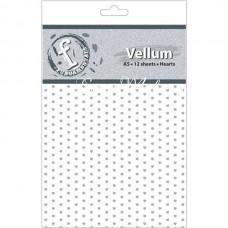 Лист веллума Heart, 145x210 мм, BU001653