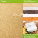 Набор глитерный кардсток, 30,5x30,5 см., в наборе 5  листов с глиттером. Cricut BU001663