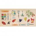 Лист для вырезания Школьная пора, цена за 1 лист, плотнось 190 гр/м2, Mona Design, BU001695