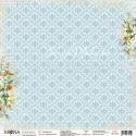Лист Нарциссы, односторонняя бумага, коллекция Дыхание весны Mona Design, BU001696