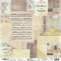 Лист Душа, односторонняя бумага, коллекция Дыхание весны, Mona Design, BU001697