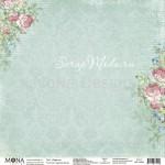 Лист Радость, односторонняя бумага, коллекция Дыхание весны, Mona Design, BU001699