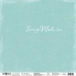 Лист Оттепель, односторонняя бумага, коллекция Дыхание весны, Mona Design, BU001700
