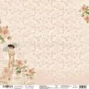 Лист Нежность, односторонняя бумага, коллекция Будуар, Mona Design, BU001703