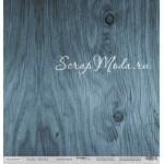 Бумага двусторонняя Ледяное дерево, коллекция Rustic Winter, 30х30 см., Scrapmir, BU001746