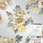 Ацетатный лист Magnolia Jane, 30х30 см., Heidi Swapp, BU001767