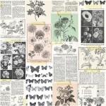 Ацетатный лист Maggie Holmes - Botanical, Коллекция Flourish, 30х30 см., Crate Paper, BU001768