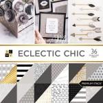 Набор бумаги двусторонней Electic chic от DCWV,  1/2 набора, BU001775