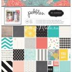 Набор бумаги HOME+MADE Jen Hadfield, 30,5x30,5 см., Pebbles, BU001786