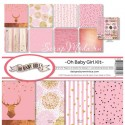 Набор бумаги Oh Baby Girl Kit, 30,5x30,5 см., Reminisce, BU001787