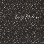 Веллум с золотым фольгированием Созвездия, размер 30,5х30,5 см, Polkadot, BU001796