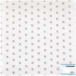 """Ацетатный лист """"Самолёт"""", с  фольгированием серебро, 20х20 см, PolkaDot. DA000760"""