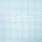 Бумага односторонняя с фольгированием Горох, голубая, размер 30,5 х 30,5 см, 180 г/м, АртУзор, BU001805