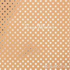 Бумага односторонняя с фольгированием Волшебство размер 20 х 20см, 250 г/м, АртУзор, BU001816