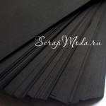 Кардсток Black, 300гр/м, размер 30х30см., цена за 1 лист, BU001827