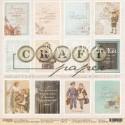 """Односторонняя бумага Карточки """"Моя школа"""", размер 30.5х30.5 см, Polkadot, BU001838"""